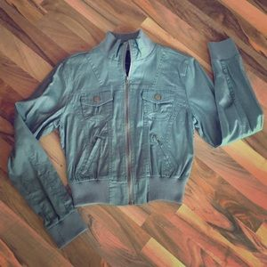 Light Weight Sage Green Jacket